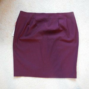 Elle Pull On Stretch Pencil Skirt Stretch XXL